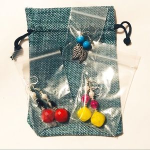 3 Sets of Earrings (New)